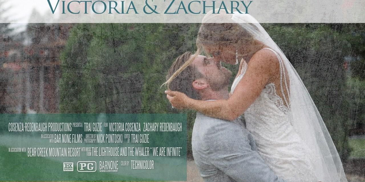 Victoria & Zachary – Bear Creek Mountain Resort – Wedding Highlight Film – Macungie PA