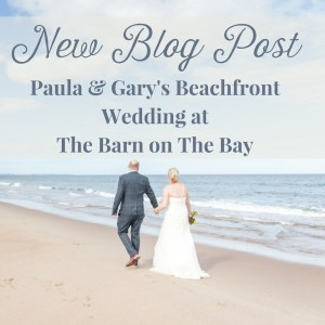 Real Weddings: Paula & Gary's Beachfront Wedding at Northumberland's Druridge Bay