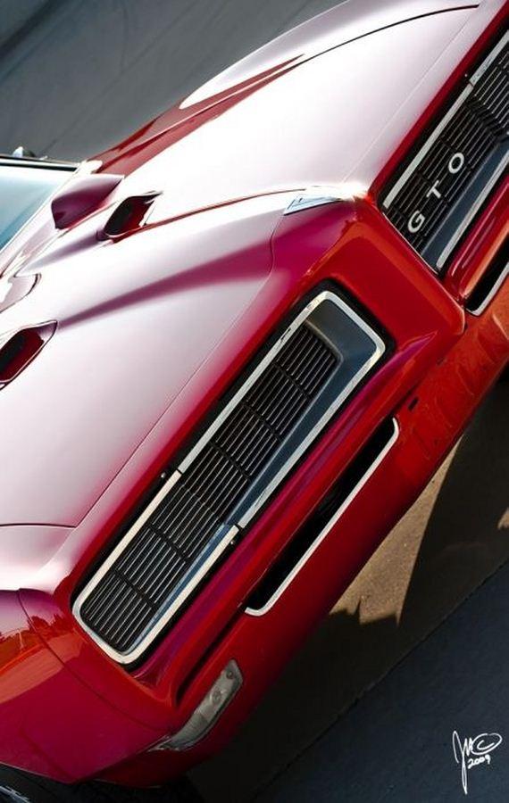 68 Pontiac Gto Muscle Car