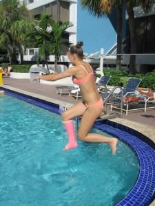 badgips bada med gips BOC barnortopedi barnortopediskt centrum gips bryta benet