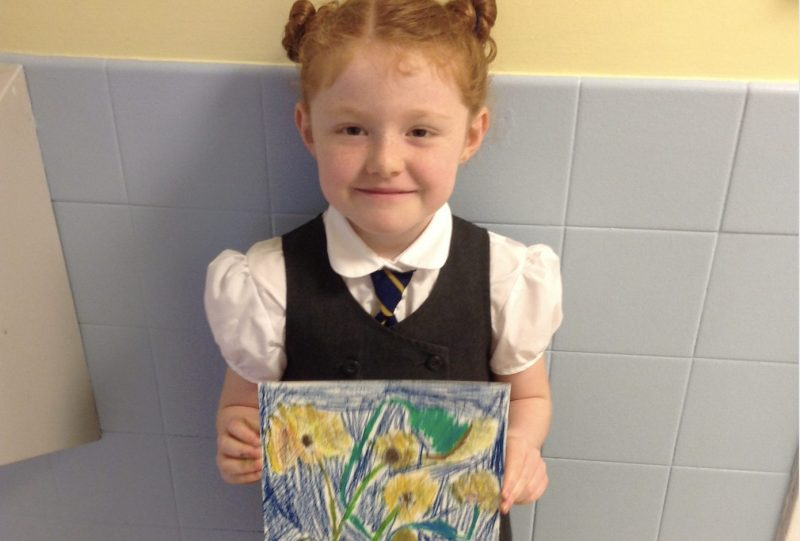 In year 2 we have been looking at the work of artist Van Gogh…