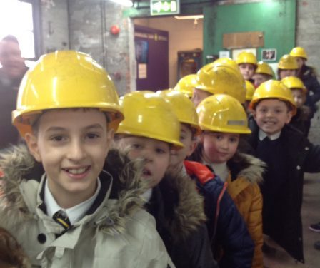 We visited the National Coal Mining Museum…