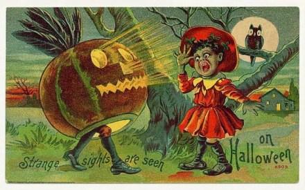 vintage-halloween-scared-girl-owl-pumpkin-card