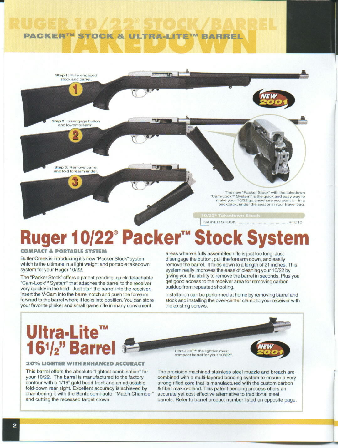 Butler Creek Ruger 10/22 Folding Stock SS FS10S for sale...   eBay
