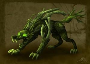 green fangs