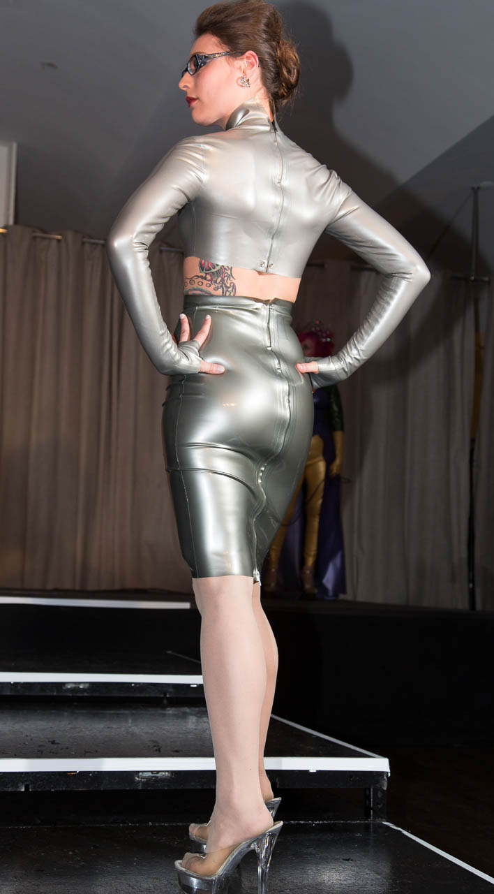 The Baroness Latex Fashion Show At Miss Rubber World 2013