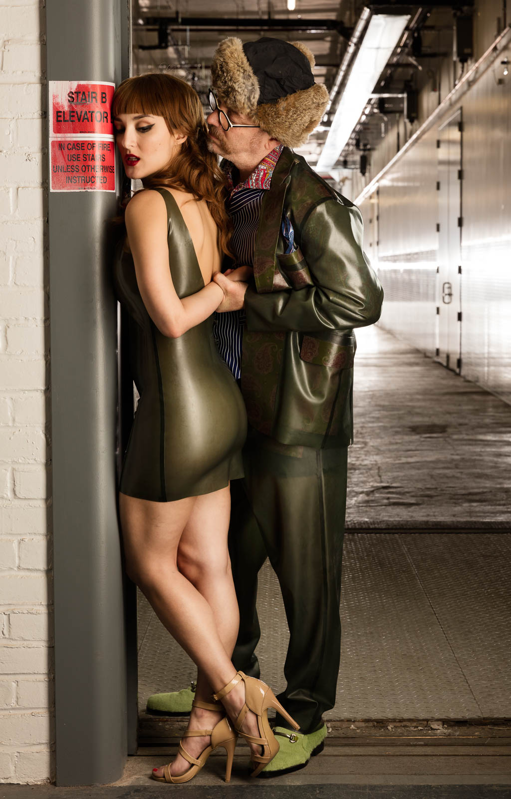 The Latex Jonathan Suit  Latex Rubber Clothing Fetish