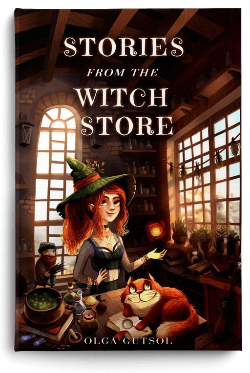 Stories From The Witch Store by Olga Gutsol