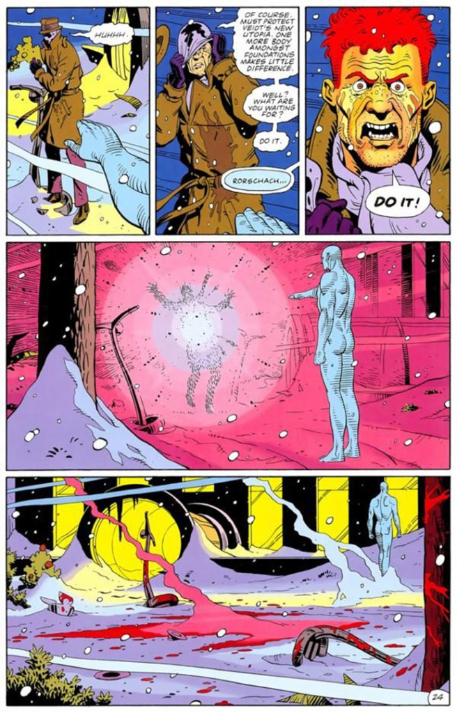 Dr Manhattan vs Rorschach