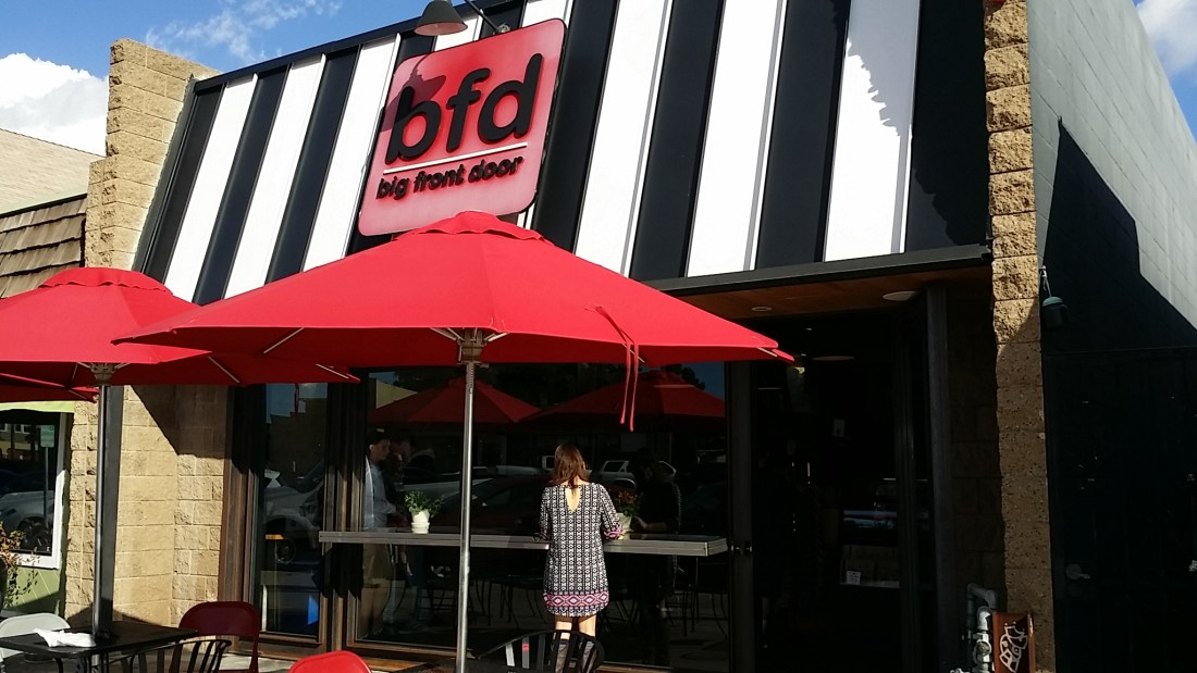 Bfd Big Front Door Baronsbbqbeat