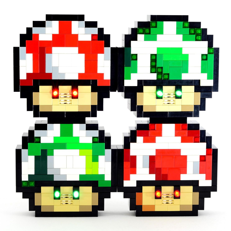 Baron von Brunk's Website! » Electronic LEGO Super Mario