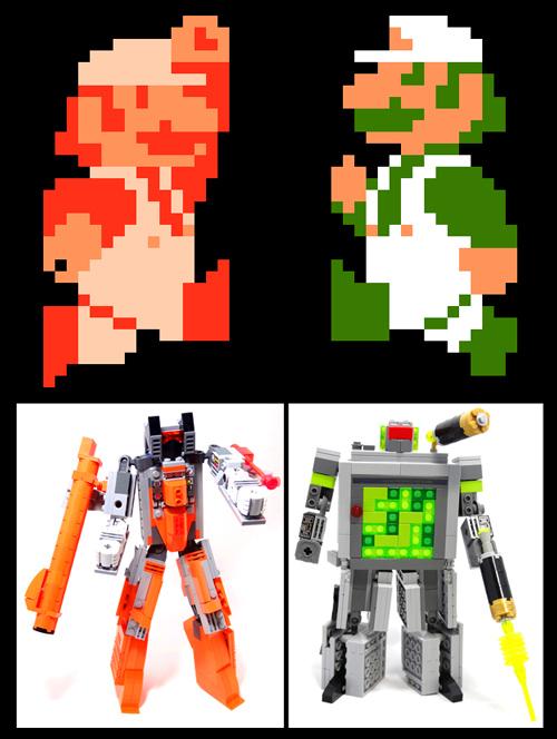 LEGOformers-Mario