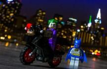 Riding His Harley