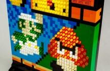 Illuminated Mosaic Musical Luigi