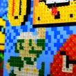 Mario Monday: mosaic sprite portrait work-in-progress!