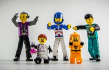 Attack of the 90mm Mutant Minifigs