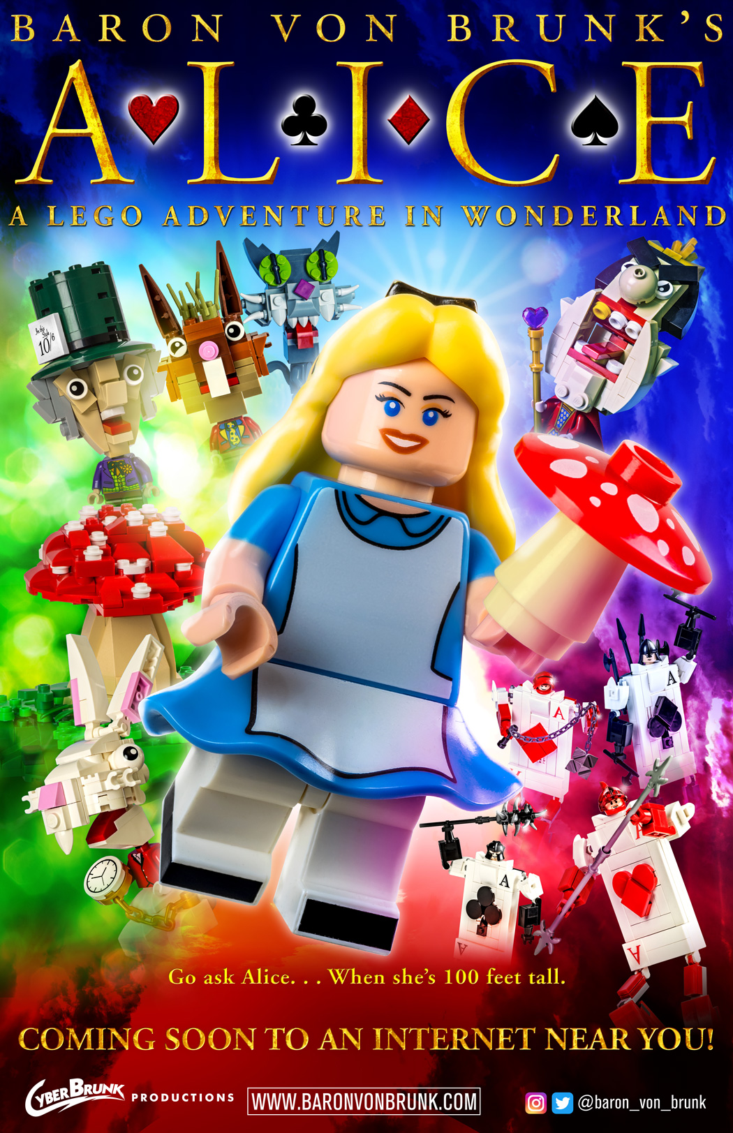 Baron von Brunk's Website! » LEGO Alice Poster