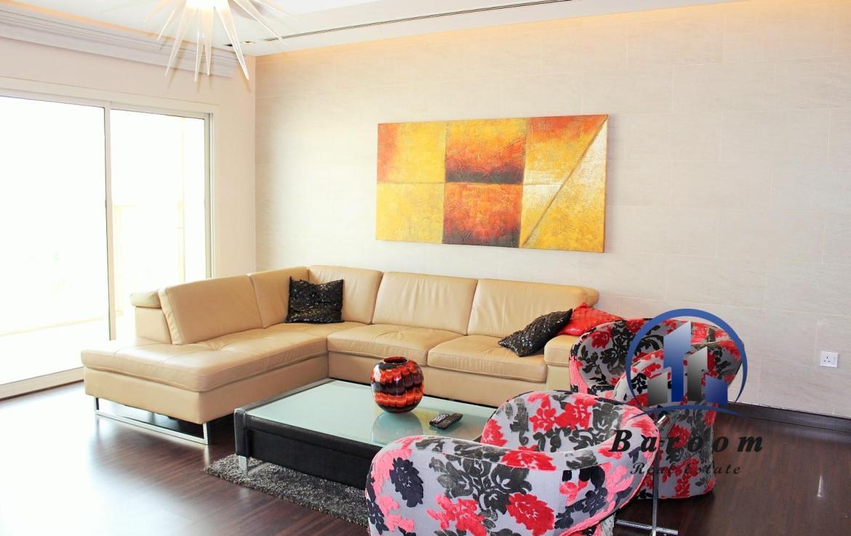 Luxury Two Bedroom Well-lit Flat