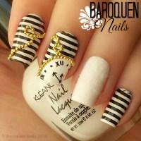 Alice In Wonderland Nail Art  The White Rabbit | Baroquen ...
