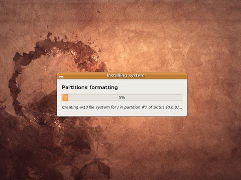 Formatting Partition