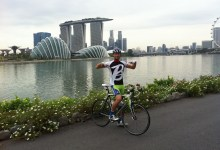 Glenn, Baroudeur, Singapore