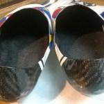 custom cycling shoe