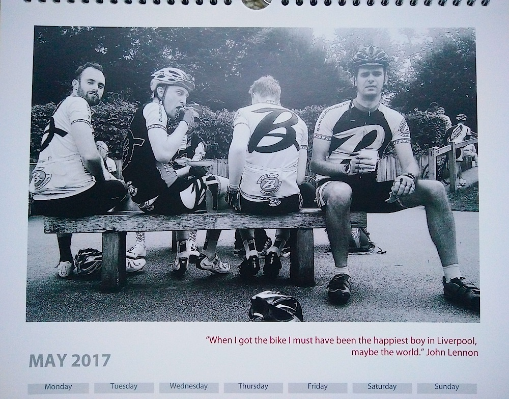 Baroudeurs Calendar 2017 May