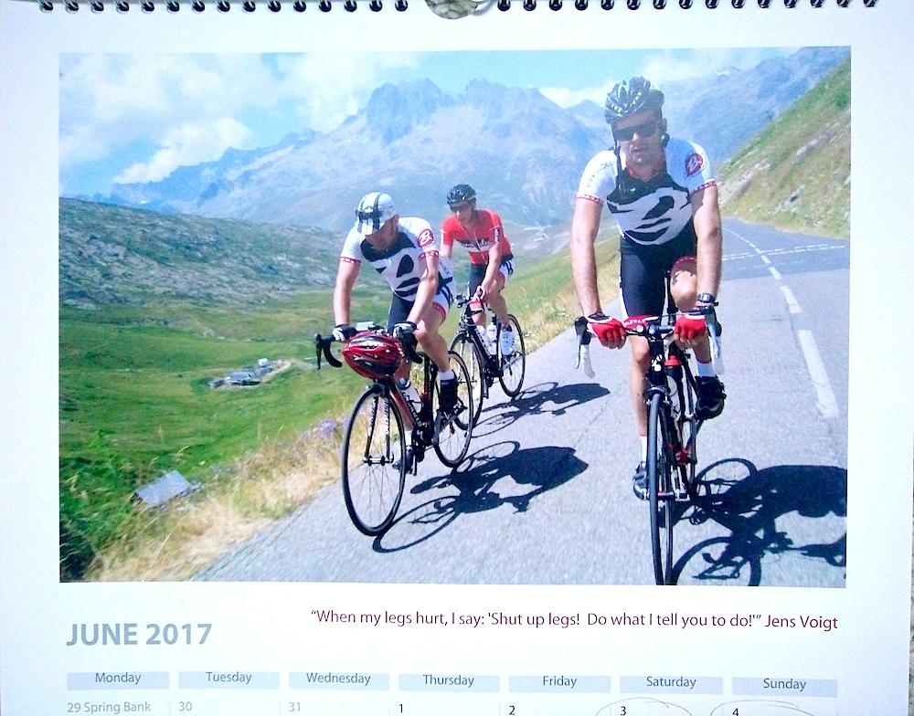 Baroudeurs Calendar 2017 June