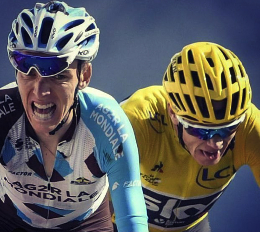 Bardet and Froome rematch