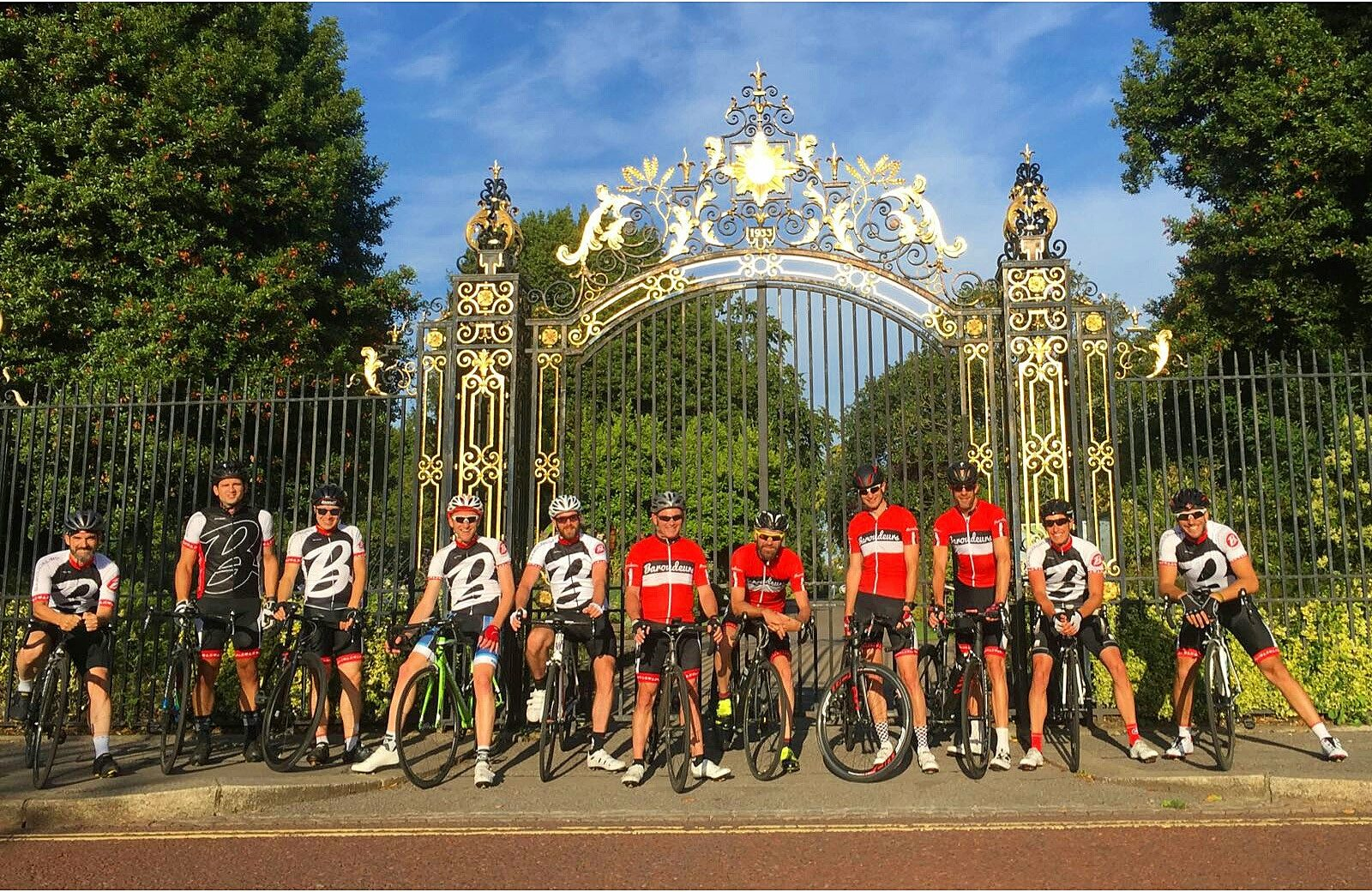 London Baroudeurs at the Gates - The Royal Parks