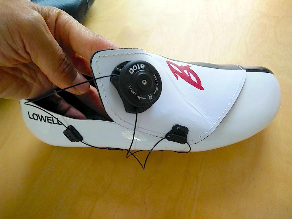 Atop closure system on FCCS custom shoe