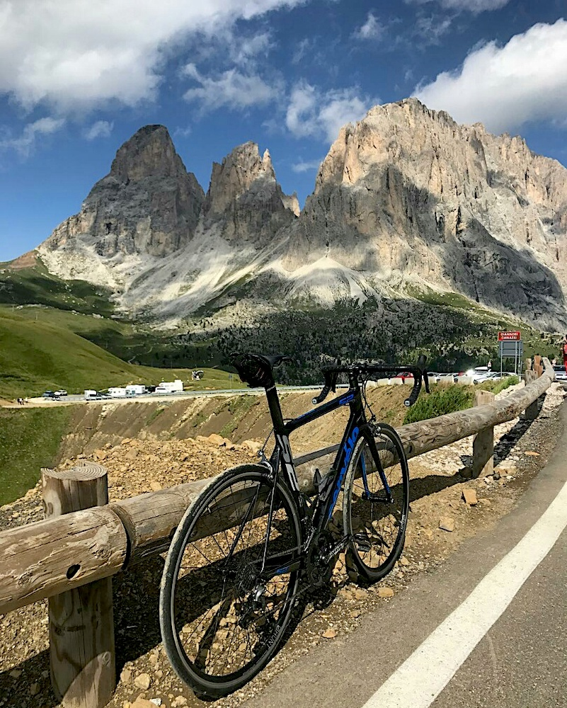 Not Ventoux, but Malga Sella is pretty cool too