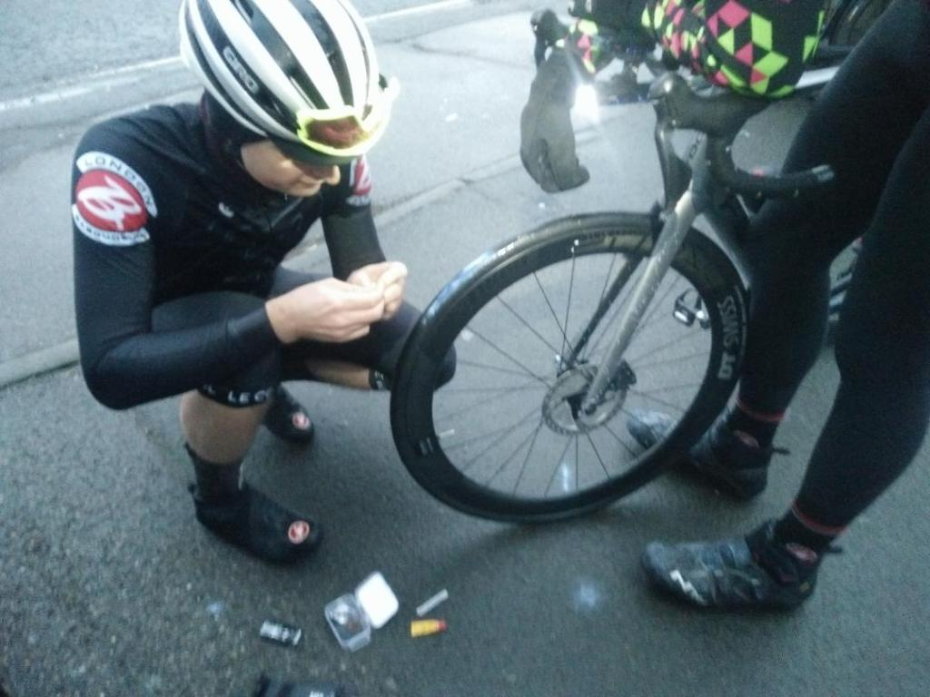 Tubeless: A little rubber-anchovy is all you need
