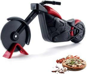harley motorcycle pizza cutter pizza wheel barpizza