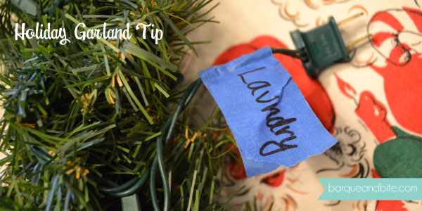 Holiday Garland Tip