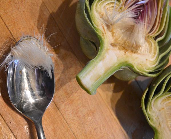 artichoke inside