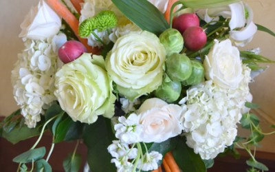 Garden Floral Arrangement How To