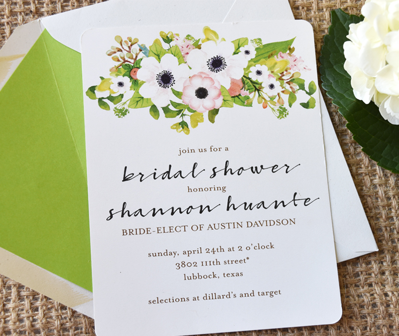 Shannon's Bridal Shower