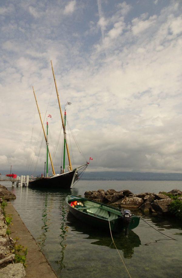 Promenade bateau Lac Léman Yvoire