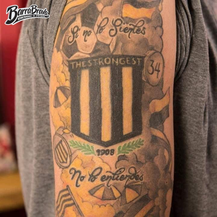 Tattoos Tatuajes La Gloriosa Ultra Sur 34 The Strongest