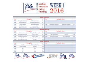 BEST 2016 - Schedule