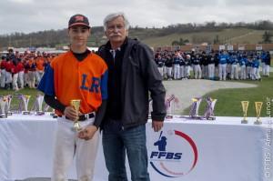 Nicolas Khoury Interligues baseball 2016
