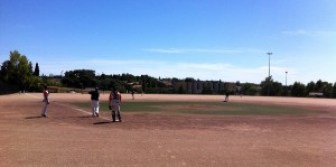 infield outfield Montpellier