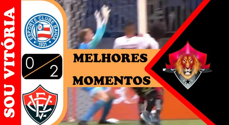 Melhores momentos Bahia 0 x 2 Vitória