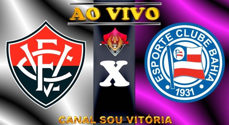 Vitória x Bahia ao vivo no PC