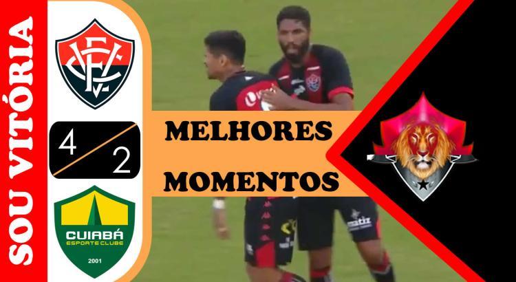 Vitória 4 x 2 Cuiabá