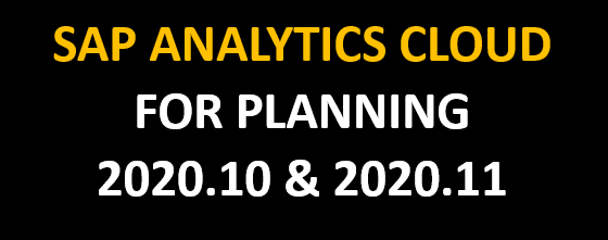 SAC Planning Release 2020.10 & 2020.11