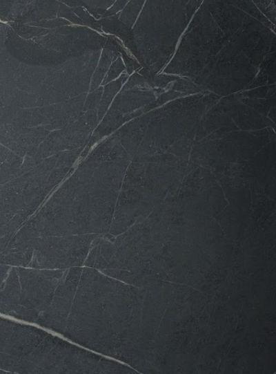 Barra  Trumbore  Textured Black Soapstone