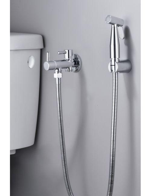 robinet pour bidet a encastrement flexible connexion toilette
