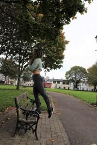 Park Bench Barre - Step Up